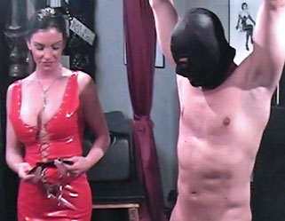 Domination and derision  hung stud is humiliated and manhandled