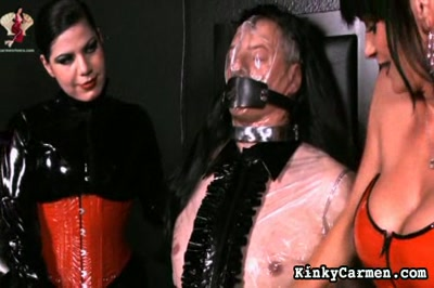 Milking machine. He now useless slavedick is getting a massive punishment before he gets plugged to a milking machine.
